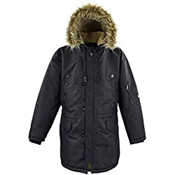 Lavecchia Men's Winter Jacket Black, Dimensione:7XL