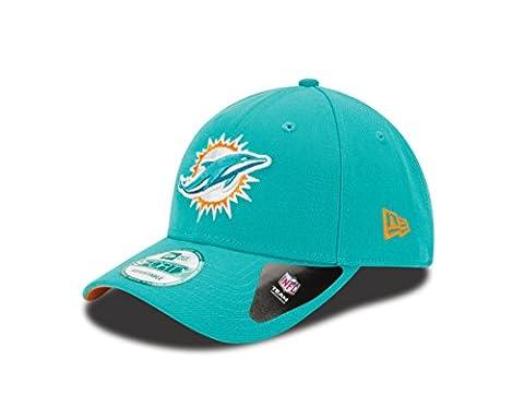 New Era Men's 9Forty Miami Dolphins Baseball Cap, Turquoise (Team), One Size
