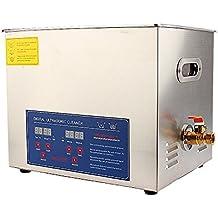 Limpiador Ultrasónico Profesional para Joyas, Calentador con pantalla digital para limpiar Joyas, Gafas,