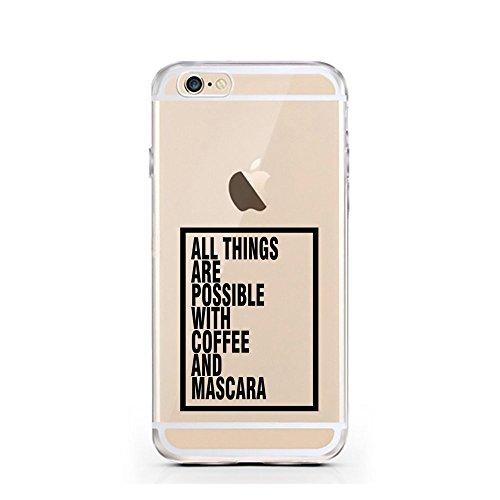 blitzversand Handyhülle Fruit FRÜCHTE kompatibel für Samsung Galaxy A5 2015 Coffee & Mascara Schutz Hülle Case Bumper transparent M3