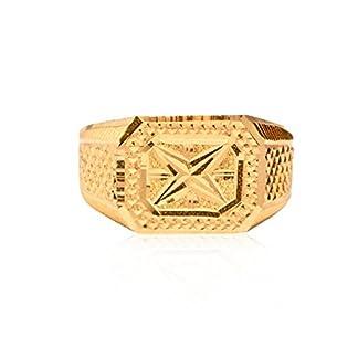 Senco Gold 22k (916) Yellow Gold Hand Made Ring