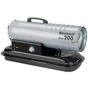 Einhell DHG 200 – Generador de aire caliente (diésel)