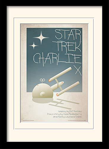 Star Trek \'Charlie X\' Memorabilia,30 x 40 cm