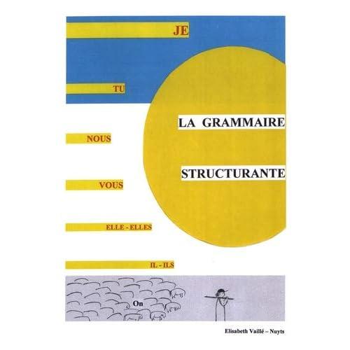 La grammaire structurante : 2 volumes : Livre du maître et fiches de jeux