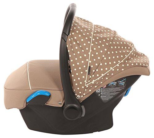 Preisvergleich Produktbild knorr-baby 33701-3 Babyschale Milan zu Voletto Tupfen, beige