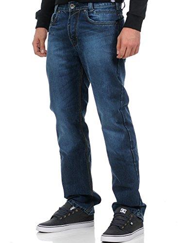vaqueros-kevlar-king-kerosin-speedhawk-power-stone-washed-30-cintura-x-32-eu-44-azul
