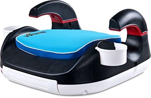 Caretero Tiger Booster Kinderautositz, Sitzerhöhung, Gruppe 2-3, 15-36 kg, blau
