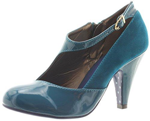 Banned, Scarpe col tacco donna Turchese (Teal Blue)