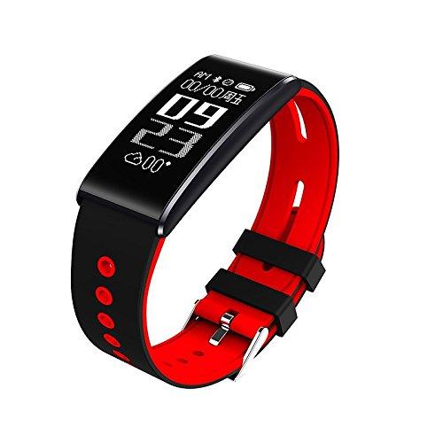 Lemumu S13 Men's Frau Bluetooth Smart Watch neue S13 Schickes Armband Puls Blutdruck Blut Sauerstoff für iOS Android Telefon, - Blutdruck Dock