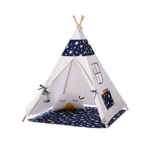 Global-tent Canvas Indian Kinderzelt, Importiert Kiefer Klammer Baumwoll-Canvas, SeitenbelüFtung Fenster Design Aktiven Umweltschutz Drucken Und FäRben -