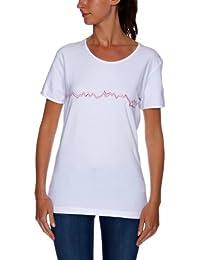 Salomon - Camiseta para mujer, tamaño XS, color blanco