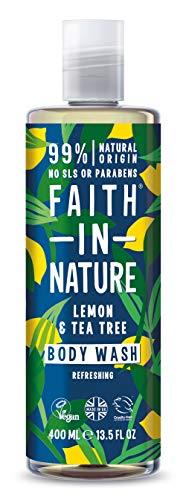 Faith in Nature Limon/Tea Tree Gel Douche/Bain Moussant