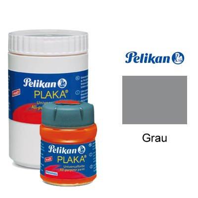 Pelikan Plaka-Farbe, 50 ml, Grau