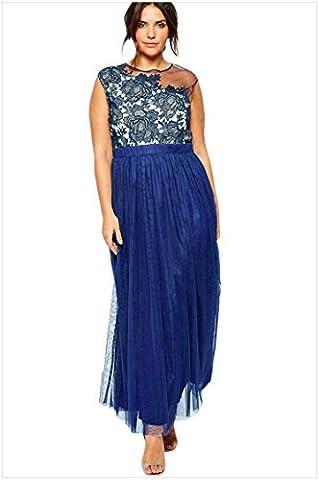 MEINICE - Robe spécial grossesse - Femme - Bleu - 2XL