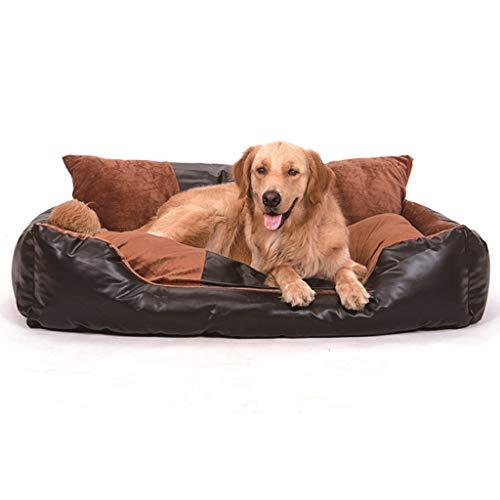 Haustierrucksack Zwinger PU-Leder abnehmbar und waschbar Sofa-Art-Haustier liefert - sehr groß / 70/90/120 / 150cm Betten (größe : 70cm) - Box-bett-skins