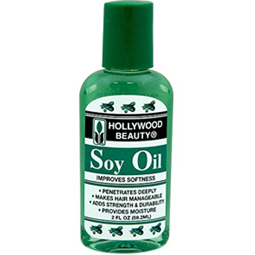 Hollywood Beauty - Hollywood Beauty Soy Oil Improves Softness 59.2 - Volume : 60 ml.