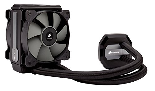 Corsair CW-9060017-WW Hydro Series Wasserkühler (H80i GT 120 mm, High Performance All-In-One CPU) schwarz