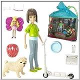 Barbie Elfinchen - N7450 - 10-teiliges Minifiguren Spiel Set mit Makena & Hund