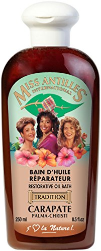 Miss Antilles International Bain d'Huile Réparateur...