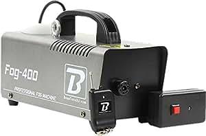 BoomToneDJ Fog 400 V3 Machine a fumée Argenté