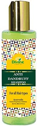 Divine India Anti Dandruff Herbal Shampoo Enriched With Neem and Rosemary, 200ml