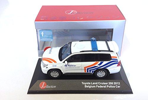 Ixo Toyota Land Cruiser 200 Belgium Police Voiture 1/43 Japan JC297