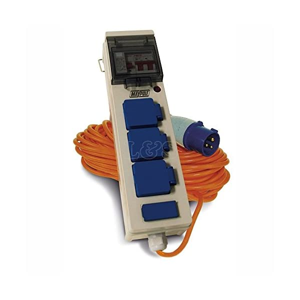 Maypole MP3766 Mobile Mains Power Unit with USB