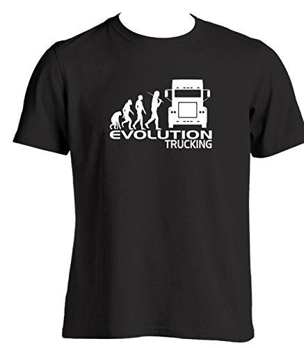 erren Neuheit T Shirt Slogan, Geschenk Ideen für Truck Driver LKW Cab Zubehör Weihnachten Geburtstag Geschenk für LKW-Fahrer Gr. XXXL, schwarz (Neuheit Weihnachten Geschenke)