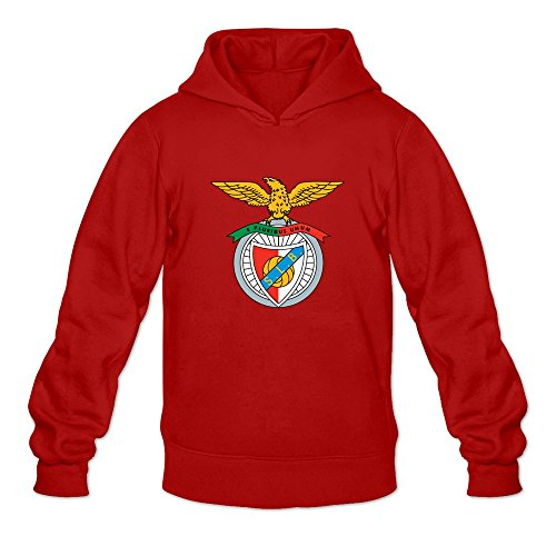 SL Benfica Logo. Logo O-Neck Long Sleeve Sweatshirts For Adult - Red -