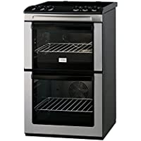 Zanussi ZCV551MXC 90cm Double Oven Electric Cooker (Stainless Steel)
