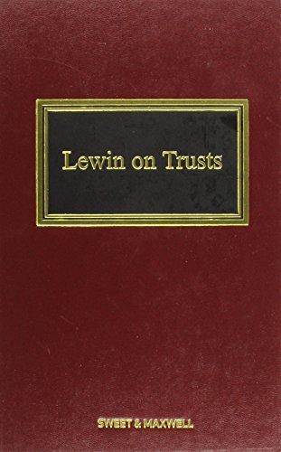 lewin-on-trusts-by-professor-robert-rennie-2006-05-06