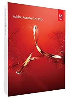 Adobe Acrobat XI Professional Version (PC) (B009I6O3BO) | Amazon price tracker / tracking, Amazon price history charts, Amazon price watches, Amazon price drop alerts