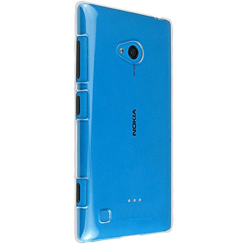 2010KHARDIO AE Crystal Clear Transparent Hard Back Case Cover for Nokia Lumia 720