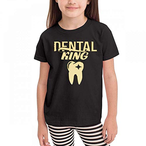 LXLING Gift Dentists Dental Student Kids Short Sleeve Crew Neck Graphic T-Shirts Tops