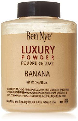 Ben Nye Banana Luxury Powder - Poudre cosmétique 85 g