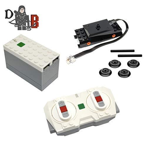 Demonhunter Bricks Lego Power Functions 2.0 Puder Up Bluetooth Fernbedienung, Batterie Schwarz Zug...