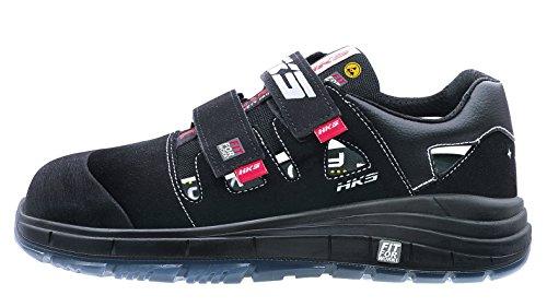 HKS , Chaussures de sécurité pour homme Schwarz