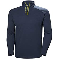 Helly Hansen HP 1/2 Zip Jersey, Hombre, North Sea Blue, 2XL