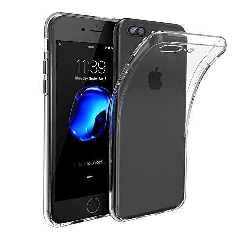iPhone 7 Plus Hülle (5.5 Zoll), Swees Ultra Slim Hülle Transparent Silikon Schutzhülle für Apple iPhone 7 Plus 5.5