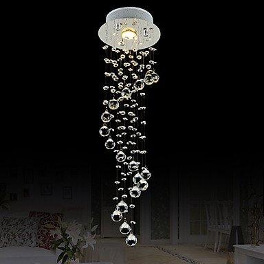 60 Insel-Licht, Zeitgenössisch Insel Chrom Eigenschaft for Kristall Ministil Designer MetallWohnzimmer Schlafzimmer Esszimmer Küche, 220-240v -