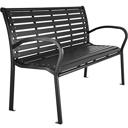 TecTake 403213 Premium Gartenbank, 3-Sitzer, WPC Sitzbank, widerstandsfähig, bis 250 kg belastbar,...