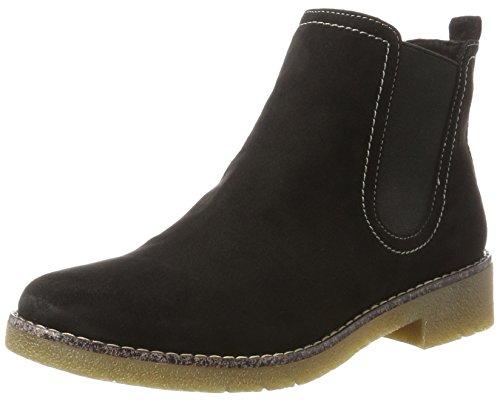 Tamaris Damen 25312 Chelsea Boots, Schwarz (Black), 41 EU Warehouse Deals Schuhe Frauen