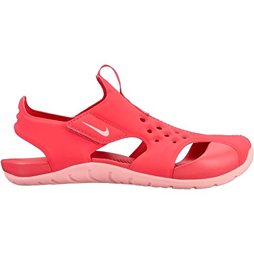 NIKE Mädchen Modelo Sandalen/Sandaletten Sunray Protect 2 (PS), Pink (Tropical Pink/Bleached coral), 29.5 EU (Nike-pink-sandalen)