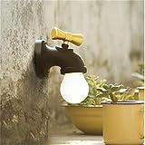YUCH Kleine Nachtlampen Wasserhahn Intelligente Sprachsteuerung Led Energiesparlampe