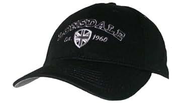 Lonsdale Herren Basecap Kappe Cap Mütze (Schwarz)