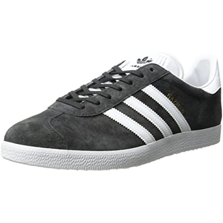 Adidas Gazelle, Basses Homme - Gris - - - Dark Gris Heather Blanc Metallic Or, - B01HLJH2VW - 317feb