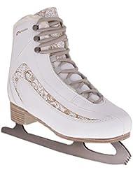 SPOKEY® FEMINI Eiskunstlauf Schlittschuhe | Erwachsene | Kinder | Nickelstahl | Gepolstert | 35-42