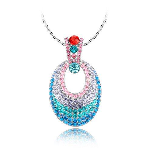 Elementos del Swarovski cristal austriaco colgante de cadena del suéter de Egipto 86289