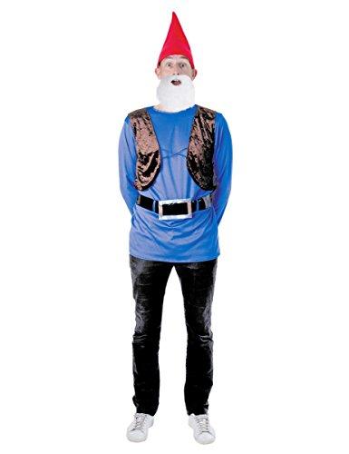 Party Pro–865156–Costume–Set Gnomo, taglia M/L