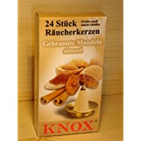 KNOX Räucherkegel Räucherkerzen Gebrannte Mandeln, 24 Stück in Packung preisvergleich bei billige-tabletten.eu
